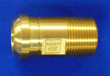 "Headpiece Nitrous Oxide 1"" Machined Brass"
