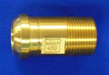 "Headpiece Nitrous Oxide 1"" Machined Brass"