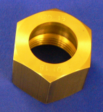"Nut Nitrous Oxide 1.5"" Machined Brass"
