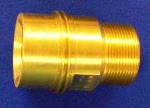 "Fixed End Nitrous Oxide 1.5"" FNPT Machined Brass"