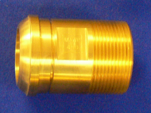 "Headpiece Nitrous Oxide 1.5"" Machined Brass"