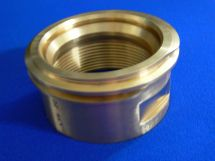 "Fixed End 3"" FNPT LNG Brass With Gasket"