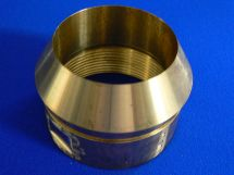 "Headpiece 3"" FNPT LNG Brass With Retaining Ring"
