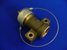 """Fixed End Assembly OXY 1.5"""" Cast Bronze 1.5"""" FNPT With Dustcap"""