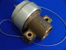 """Fixed End Assembly ARG 2.5"""" Cast Bronze 2"""" Tube Socket With Dustcap"""