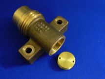 "Fixed End ARG 1.5"" Cast Bronze 1.5"" Tube Socket With Orifice Plate Thread / Orifice Plate Ordered Separately"