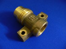 "Fixed End ARG 1.5"" Cast Bronze 1.5"" FNPT"