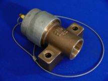 """Fixed End Assembly ARG 1.5"""" Cast Bronze 1.5"""" Tube Socket With Dustcap"""