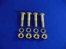 Hardware Kit - Suitable For Cryogenic Service - 4 EACH SS Bolts, Nuts, Lock Washers