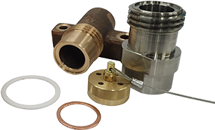 Liquid transfer fittings